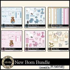 New Born bundle by Happy Scrap Arts