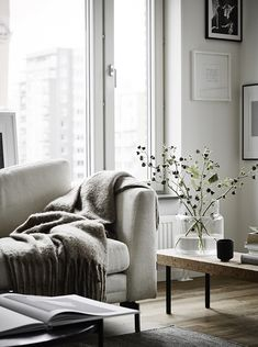 Cozy scandinavian living room by Jonas Berg