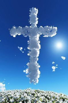 (4:13) I Can Do All things through Christ - Who' Gives me Strength.  #CROSS #Sky #Light