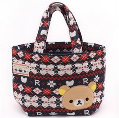2PC JP San-X Korilakkuma bear friendship money coin bag