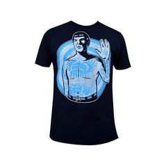 Men's Live Long by Adi Star Trek Spock Vulcan Salute Tattoo T Shirt ($27) ❤ liked on Polyvore featuring mens, men's clothing y men's shirts