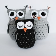 Create and Decoration: Pattern of crochet owl. It is in Swedish so do not for get to click on Translate