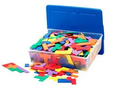 Learning Resources Rainbow Premier Pentominoes, 6/Set (LER02866) by Learning Resources, http://www.amazon.com