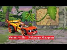 Vai Blaze and the Monster Machines - Velocityville- Relapago Macquen