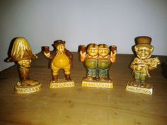 Set of 4 Wade Guinness Whimsies - Promotional Figures