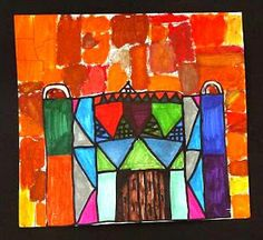 Paul Klee inspire architecture drawing.