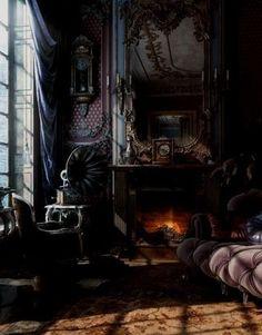 dark and moody interiors | @meccinteriors | design bites