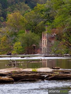Explore Sweetwater Creek State Park near Atlanta