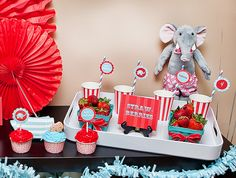 Since I didn't do Ty's room as vintage circus like I first planned, maybe a birthday party one day?