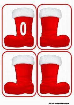 Nová školka sen: S botami Santa Claus . odpovídající a počítání ! Christmas Math, Christmas Crafts For Kids, Christmas And New Year, Christmas Themes, Holiday Decor, Christmas 2019, Preschool Education, In Kindergarten, Preschool Activities
