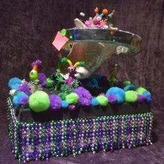 """Conch Ships Space Dream"" by Jordyn Perry, Guy Sexton and Jessica Yokum. 2015 Smallest Parade"