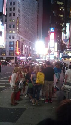 At 42 street with Times Square in the back. 42nd Street, New York City, Times Square, Travel, Viajes, New York, Destinations, Traveling, Nyc