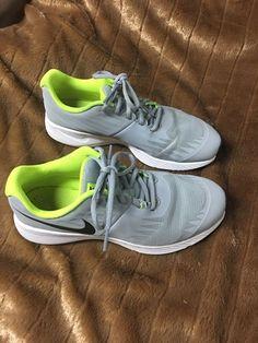 5c46f05e1880 NIKE Kids Size 6Y Unisex Gray  fashion  clothing  shoes  accessories   kidsclothingshoesaccs
