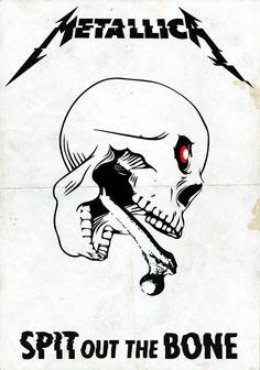 Master Of Puppets, Metallica, Bones, Art, Art Background, Kunst, Performing Arts, Dice, Art Education Resources