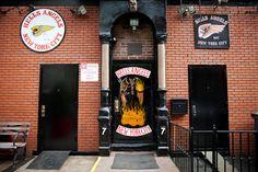 Hells Angels HQ, East Village, 2012