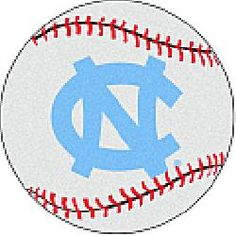 Fanmats North Carolina Tar Heels Baseball-Shaped Mat