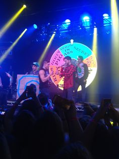 Some of Beau :P Jai Daniel James and Luke onstage :)
