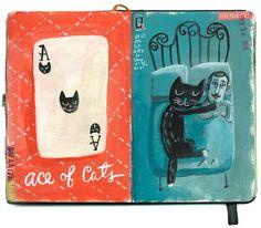 shoulda-woulda-coulda: Black-cat-a-day 17 & 18