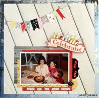 A Project by yaelyaniv from our Scrapbooking Gallery originally submitted 06/11/13 at 02:56 AM
