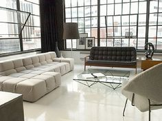 vacation rentals by owner for pet friendly condos and homes in Montreal, Canada. Polished Cement Floors, Montreal Vacation, Vacation Rentals By Owner, Modern Industrial, Beautiful Interiors, Rental Apartments, Ideal Home, Condo, House