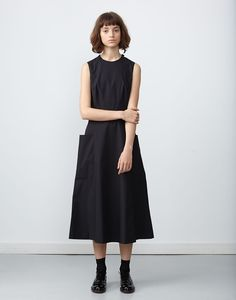Studio Nicholson für den Sommer 2015 - Jane Wayne News Cos Dresses, Linen Dresses, Simple Dresses, Boho Fashion Over 40, Studio Nicholson, Shirt Bluse, Minimal Fashion, Fashion Outfits, Womens Fashion