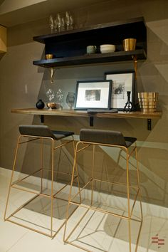 Living with Style? Here's a modern with a bit of luxurious touch Interior Design transformation of a Residential Model Unit. Empire Design, Residential Interior Design, Design Model, The Unit, Touch, Luxury, Modern, Furniture, Home Decor