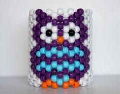 Cute EDM EDC Insomniac Little Owl Kandi Cuff