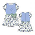Готовые выкройки детской одежды/ Платья — Шкатулка