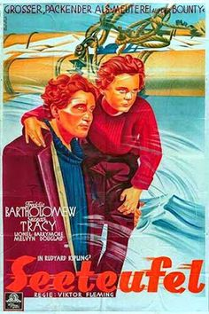 Carteles del cinema: 1937 - CAPITANES INTRÉPIDOS - Captains Courageous