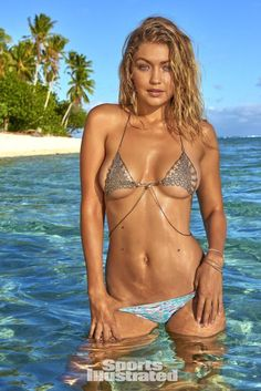 70db4c7ff0c7a Gigi Hadid  Sports Illustrated Swimsuit 2016 - Posted on February 2016