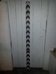 Childs portable measuring fence slat. For those who don't want to leave precious memories behind.