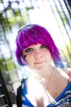 Senior portraits in Santa Cruz, CA punk rocker