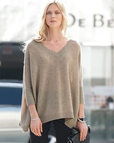 Cashmere Poncho Fall must have!!