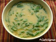 bean and spinach soup