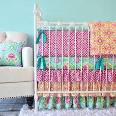 Caden Lane Lily Pad Crib Set
