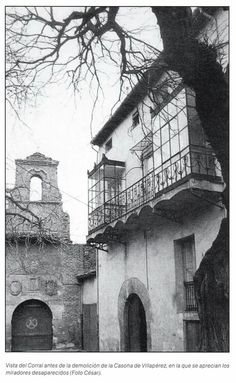 Leon, fotos antiguas, corral de Villaperez.