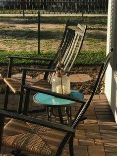 Outdoor Better Homes Gardens Belle Drive High Back Rocking Chair