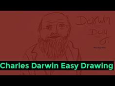 Darwin Day 2021 | Easy Drawing of Charles Darwin Step by Step | Happy Darwin Day 2021 | Drawing Easy - YouTube Drawing Competition, Easy Youtube, Charles Darwin, Easy Drawings, Happy, Ser Feliz, Being Happy