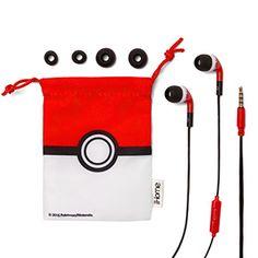 Pokémon Noise Isolating Earbuds w/ Mic