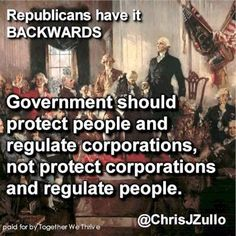 Corporate ownership of the Republican Party