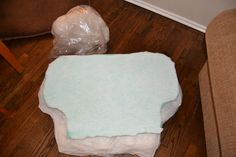 Perking Up Saggy Furniture Cushions ~ The Flying C