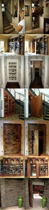Definitely want secret passageways in my house