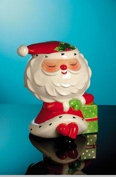 Christopher Radko Sleepytime Santa Cookie Jar