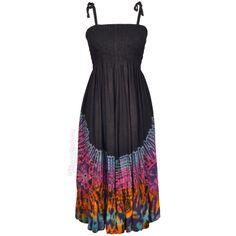 Tie Dye Sunset Dress