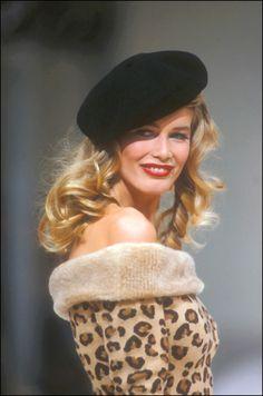 Claudia for Azzedine Alaia, 1992