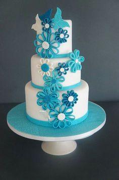 Granny S Birthday Cake Ideas On Pinterest Flower Cakes