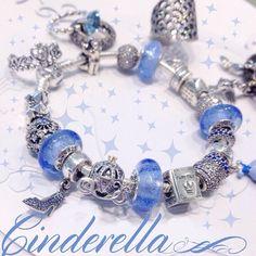 Disney Cinderella Pandora Bracelet & Charms - Found on Mora Pandora #disney…