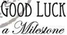 Picture of Marianne Design Clear Stamp Good Luck