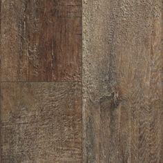 "Show details for Mannington Restoration Collection Arcadia 6- 3/16""- Bark. Medium brown/gray laminate, wide plank, smooth"