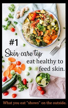 """We can tell you about """"skin food.""""  #skincare #skincaretips #skincareroutine #healthy #beauty #beautifulskin #healthyfood Healthy Skin Care, Healthy Beauty, Healthy Women, Healthy Tips, Healthy Choices, Healthy Recipes, Healthy Food, Healthy Lifestyle Changes, Healthy Lifestyle Motivation"""